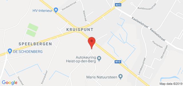 Routebeschrijving naar keuringsstation Heist-op-den-Berg