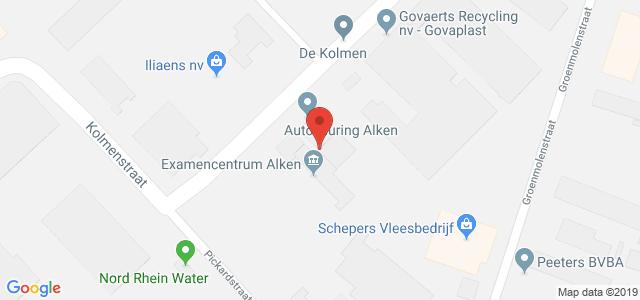 Routebeschrijving naar keuringsstation Alken