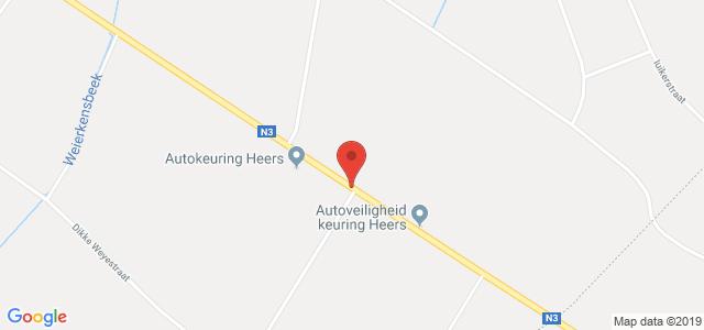 Routebeschrijving naar keuringsstation Heers